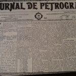 Перв мир война - Журналь де Петроград-отречение царя
