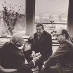 У Дюкло с Жуковым в 1974 фото Воронина ЮрияWM