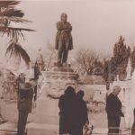 Арагон и Триоле на могиле Герцена