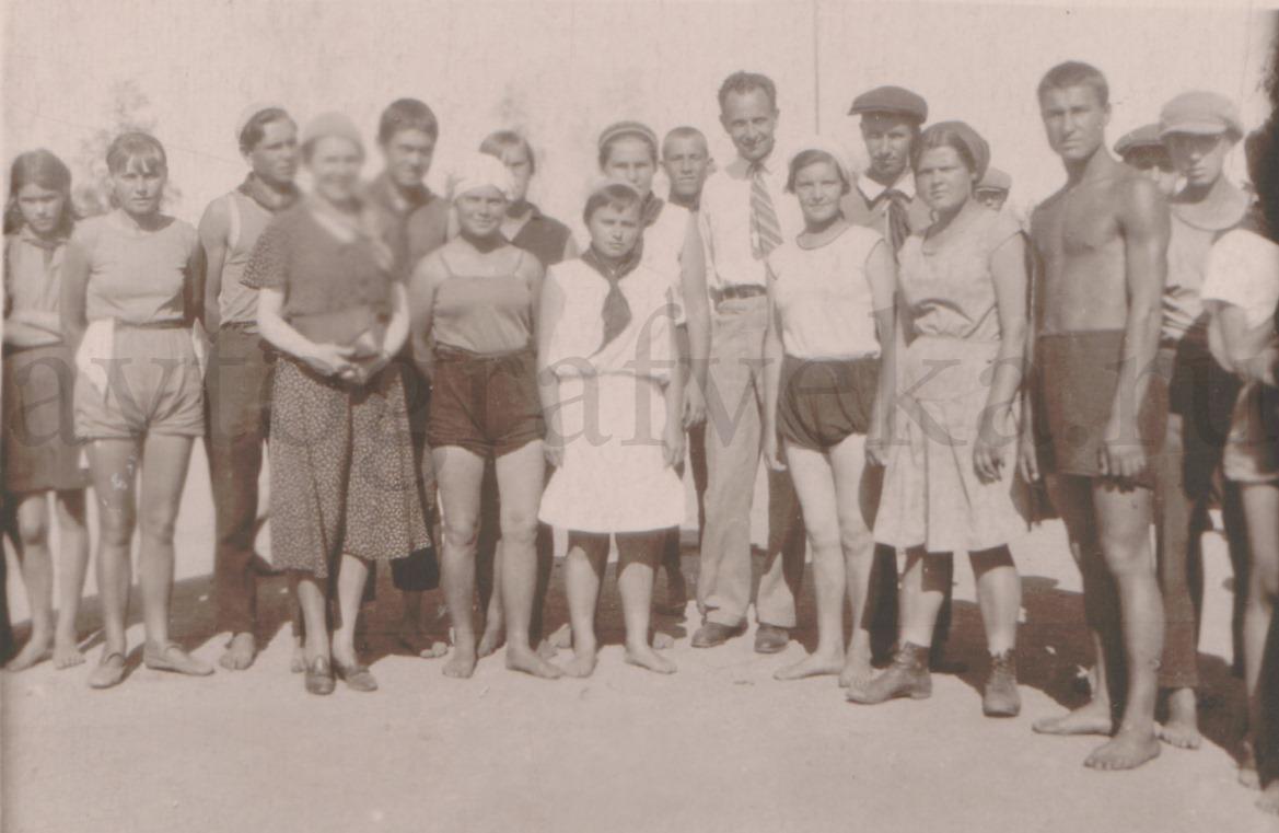 Арагон и Эльза на Урале 1932
