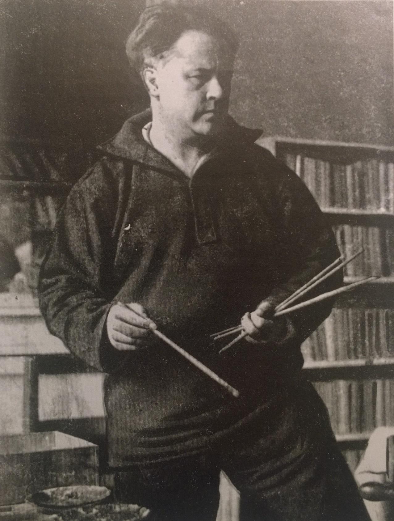 Главный редактор «Юманите» Поль Вайян-Кутюрье был талантливым художником.