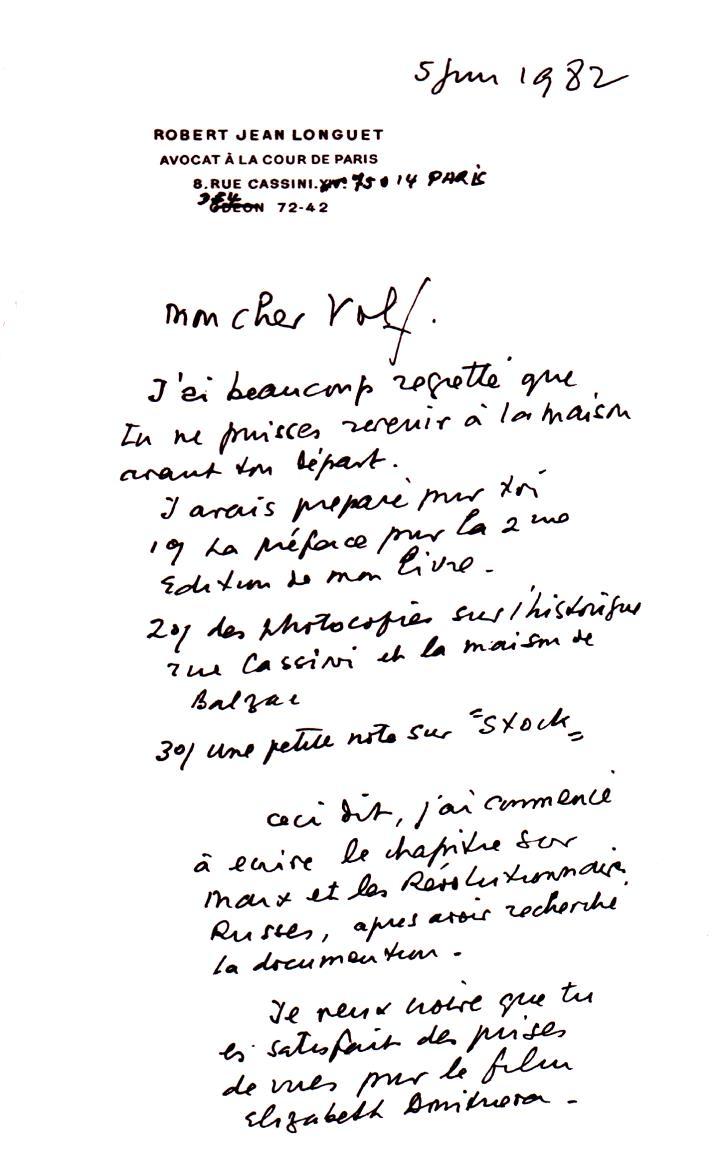 Письмо Лонге
