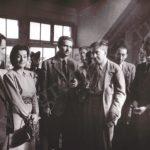 Эренбург_жена Люб Михайловна_Арагон_Катаев_Симонов_1945 Париж