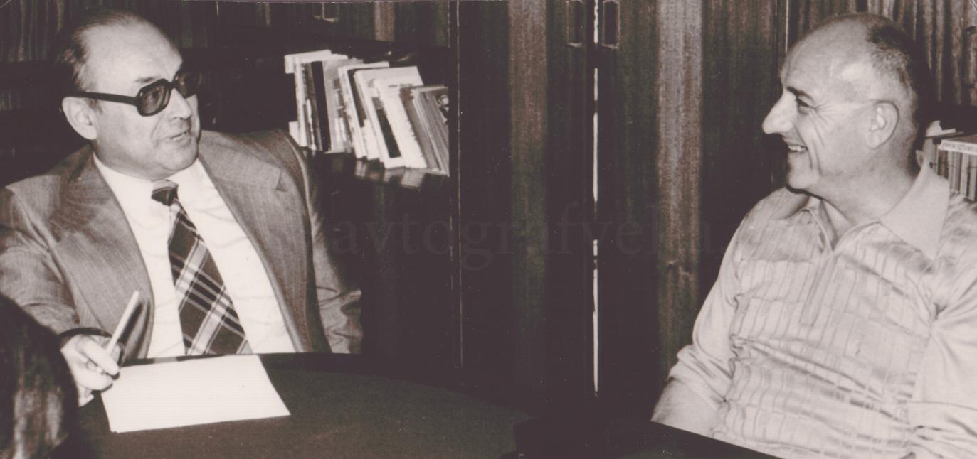 20_с Бернаром Клавелем в Прогрессе 1977