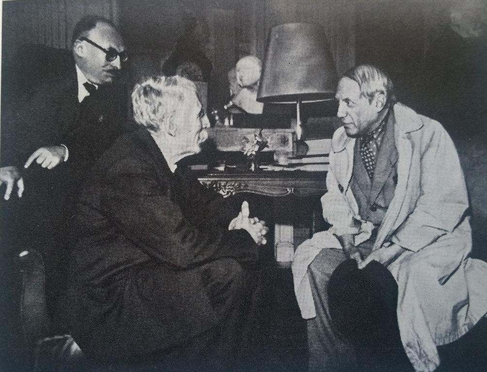 5_Встреча Кашена, Дюкло и Пикассо